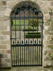 Magnolia styled gate, Leathley